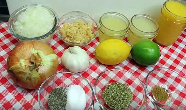 Для приготовления маринада можно много чего использовать