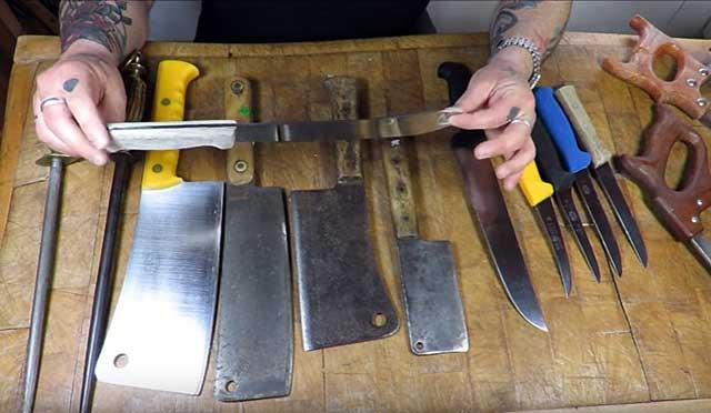 Ножи должны быть острыми