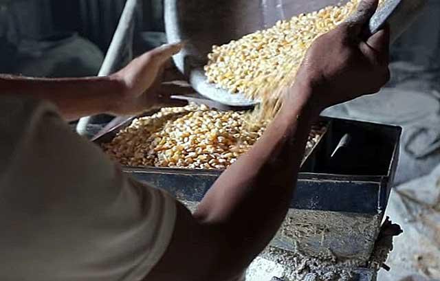Кукуруза - один из основных ингредиентов