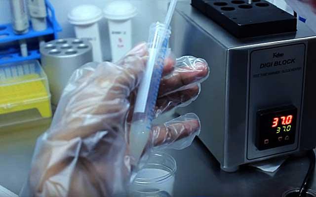 Семенная жидкость должна соответствовать определенным параметрам
