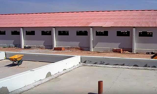 Строить здание надо вдалеке от жилых домов