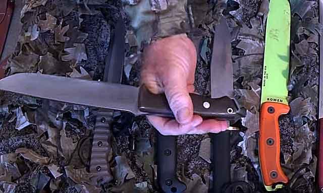 Тщательно подберите нож