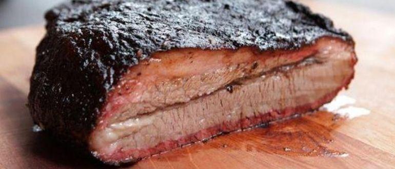 коптить мясо